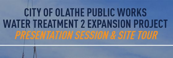 Olathe KS Water Treatment Plant Expansion Tour