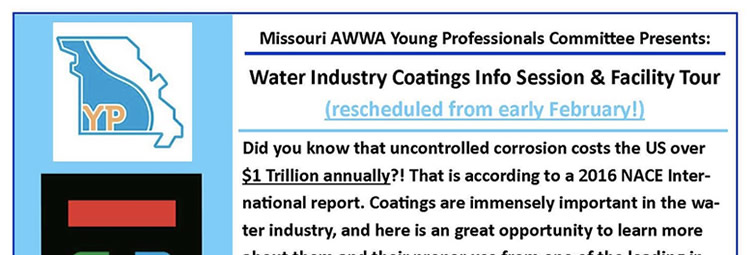 Water Industry Coatings Learning Event