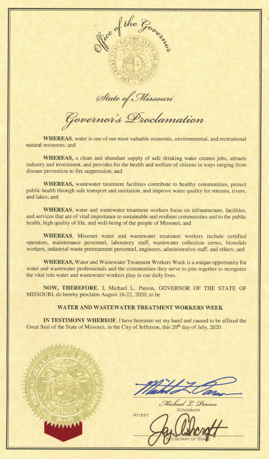 2020 water wastewater week proclamation lg
